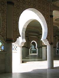 moschea di touba interno